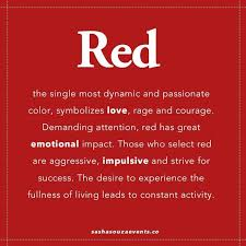 Word In Red Color Inspiration Red Red Quotes Red Meaning Red Colour