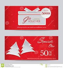 xmas gift voucher stock vector image 59867520 xmas gift voucher