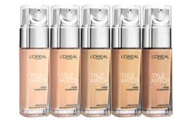 l oreal true match liquid foundation 9 shades to choose hermo beauty msia