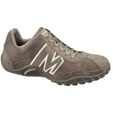 mens sprint blast leather shoe smoke