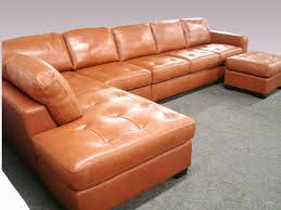 Livingroom Leather Sectional Sofa Orange County Polaris