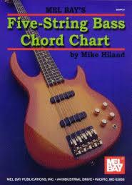 5 String Bass Chord Chart Five String Bass Chord Chart Accessories Bassbooks Com