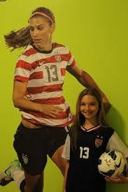 soccer bedroom ideas alex morgan wall