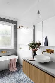 modern bathroom subway tile. A Comfortable Bathroom Is Key Source Of Tranquility In Your Home. Whether Sleek And Minimal Or Bursting With Colorful Tiles, Curated Modern Subway Tile