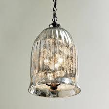 pendant lighting small mercury glass pendant light shades how with regard to mercury glass