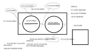 diy guitar speaker cabinet plans best of diy 2 12 speaker cabinet plans woodworking tools