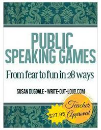 public speaking activities fun speech exercises