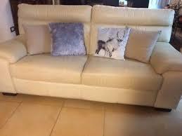 Design contemporaneo divani divano pavimentazione ispirazione arredamento d'interni. Divano In Pelle Poltrone Sofa Ebay