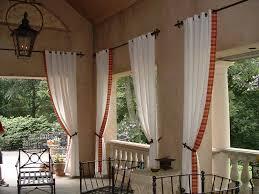 outdoor various style patio curtain ideas