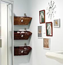 Hanging Basket Racks For Small Bathroom
