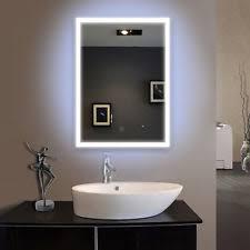 Illuminated Bathroom Mirrors LED Bathroom Mirrors