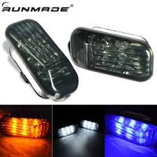 Rsx Cup Holder Light Bulb Us 14 28 Runmade 1pair Smoked Lens Led Side Marker Lights For Honda Accord Civic Cr X Acura Integra Rsx Nsx In Signal Lamp From Automobiles