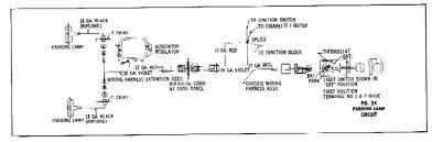 car wiring diagram automobiles wiring system and diagram for parking lamp circuit for the 1960 chevrolet passenger car