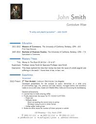 Curriculum Vitae Sample Format Stunning Resume Latex Template 48 Ifest
