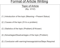Formats Of Notice/letter/article/speech/debate & Invitation - The ...