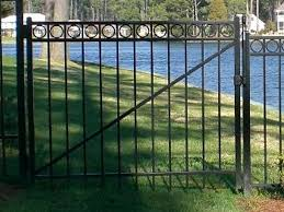 vinyl fence with metal gate. Full Size Of Gate And Fence:aluminum Entry Gates White Metal Fence Panels Aluminum Vinyl With N