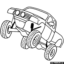 cec91483fa1836daa48b0cfc6aac9aaa off road vehicle coloring page color off road cars & monster on jacked up truck coloring pages