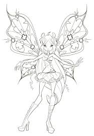 Fairy Coloring Pages For Adults Fairy Color Pages Teenage Fairy