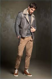 italian brand brunello cucinelli delivers a standout sleeveless leather jacket for its fall winter 2017
