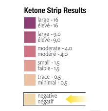 71 Symbolic Keto Strip Chart