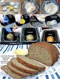 Real bread that happens to only have 2 net carbs per slice. Low Carb Flaxseed Sandwich Bread With Bread Machine Recipe Recipe Low Carb Bread Machine Recipe Bread Maker Recipes Bread Machine Recipes