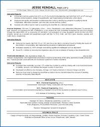 Process Engineer Resume Extraordinary Resume Ultimate Sample Resume For Process Engineering Also Chemical