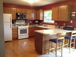 modern kitchen colors 2017. Inspiring Kitchen Paint Colors 2017 Top With Oak Cabinets Including Golden Images Regard Modern F