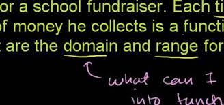 how to solve word problems involving domain and range math wonderhowto