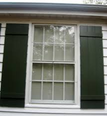 my louvered shutters were beginning to give the place that haunted house look ling paint and a few cockeyed slats