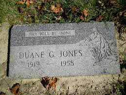 Duane Gordon Jones (1919-1958) - Find A Grave Memorial