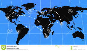 Animated Travel Map Animated Travel And Business Trip Infographic On Black