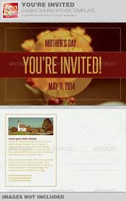 invitation flyer youre invited church flyer invite template is sold exclusively on