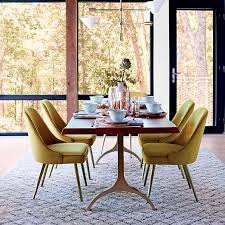 cast trestle dining table westelm