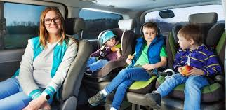 vehicle type matters with car seats roomy vehicles will make the fit a breeze while with more compact vehicles fitting three child seats across the back