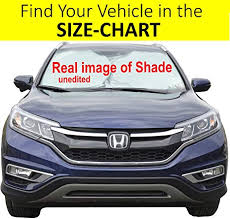 Sunshade Size Chart Car Front Window Sunshade Size Chart For Cars Suv Trucks Minivans Reflector Keeps Your Vehicle Cool Heat Shield Xl