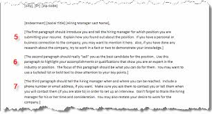 Tips and Samples for Sending Email Cover Letters Guidelines for Formatting Your Cover Letter