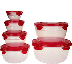 Lock & Lock 6 piece Nesting Bowl Set - K46166