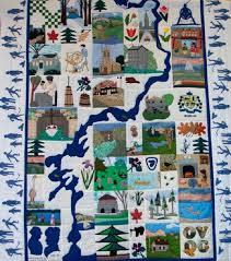 Ottawa Valley Quilters Guild - About us & Rideau Canal Quilt Adamdwight.com