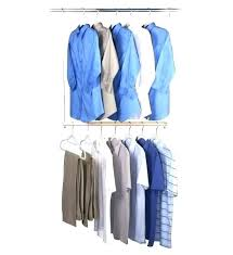 double rod closet organizer s side g target room essentials iu home freestanding clo