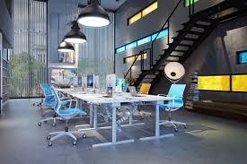 architectural office design. Potential Of The Product Object - Working Table. In This Particular Case Is To Present Table Designers/architectural`s Office Interior Architectural Design