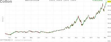 Cotton Commodity Price Chart Cotton Futures