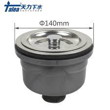 kitchen sink strainer basket. Talea 140mm Stainless SteelSink Straine Kitchen Sink Strainer Basket Filter For Waster Drain Prevent S