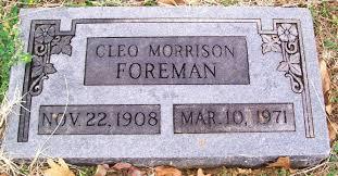 Cleo Foreman