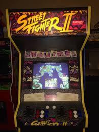 original 1991 street fighter ii the world warrior arcade cabinet