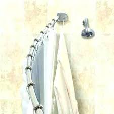 how to install moen tension shower curtain rod curved shower rod old world bronze adjule curtain