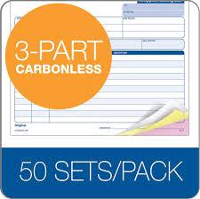 shipper packing slip unit set part carbonless pk