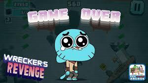 gumball wrecker s revenge saddest game over screen ever cartoon network games