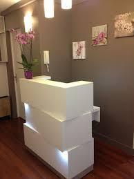 1000 ideas about salon reception desk on used small salon reception desk
