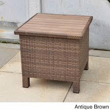 contemporary outdoor storage wicker