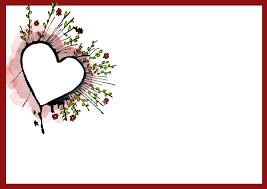 free printable heart border templates them or print
